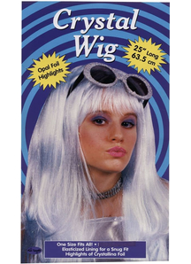 Crystal Blue Wig For Women