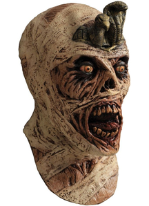 Cursed Mummy Latex Mask For Halloween