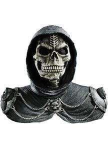 Dark Reaper Mask & Shoulders For Halloween