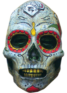 Day Of The Dead Zombie Latex For Adults