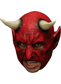Demon Chinless Mask For Halloween