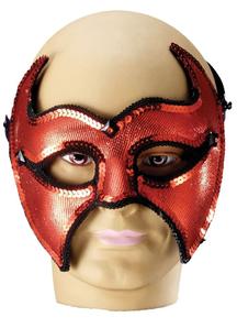 Devil Half Mask For Halloween