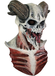 Devil Skull Mask For Halloween - 18198
