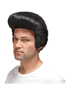 Dollar Daddy Black Wig For Men