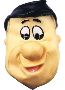 Fred Flintstone Latex Mask For Adults