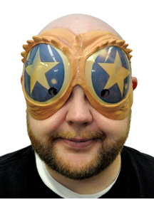 Funny Peeper Mask Blue/Gold Star