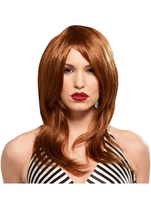 Glamour Gal Red Wig For Women