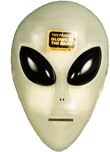 Glo Alien Mask For Adults
