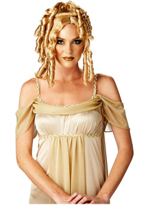 Goddess Blonde Wig For Adults