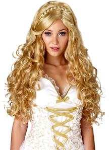 Goddess Blonde Wig For Women