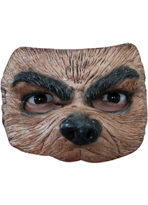 Half Wolf Mask For Halloween