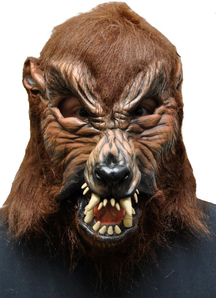 Howl O Ween Latex Mask For Halloween