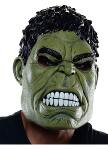 Hulk 3/4 Mask For Adults
