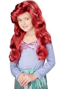 Lil Red Wig For Mermaid Costume