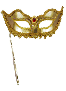 Masquerade Ven Mask Stick Gold