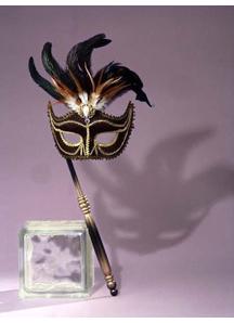 Masquerade Venetian Mask Black
