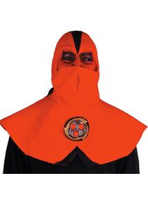 Ninja Devil Half Mask With Hood For Halloween
