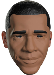 Obama Vacuform Adult Mask For Adults