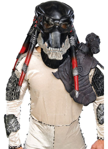 Predator Dlx Latex Mask For Adults