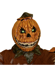 Pumpkin Rot Latex Mask For Halloween