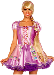 Rapunzel Blonde Wig For Adults