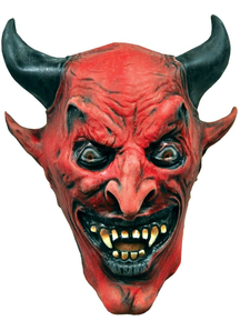 Red Devil Mask For Halloween