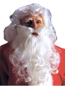 Santa Wig And Beard Economy For Christmas