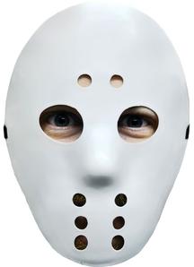 Scary Hockey Mask White