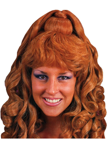 Spicy Glamour Brunette Wig For Women