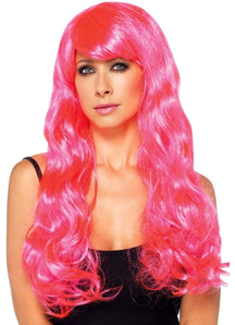 Starbright Wig Neon Pink For Women