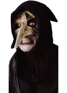 Venetian Raven Bone Mask For Halloween