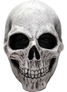 White Skull Latex Mask For Halloween