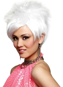 White Vivid Wig For Women