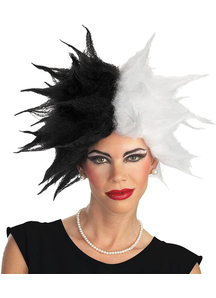 Wig For Cruella Costume