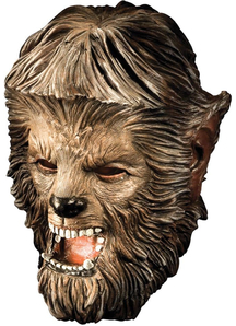 Wolfman Deluxe Latex Mask For Halloween