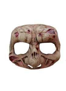 Zombie Latex Half Mask For Halloween