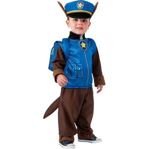 Chase Classic Costume For Children From Paw Patrol