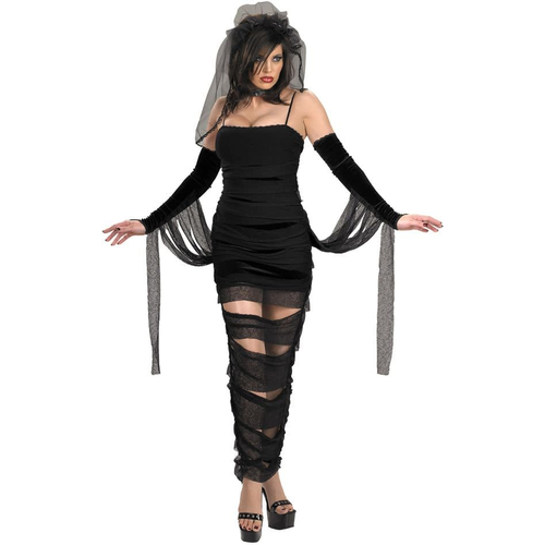 Black Mummy Teen Costume