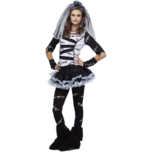 Bride Of Frankenstein Teen Costume