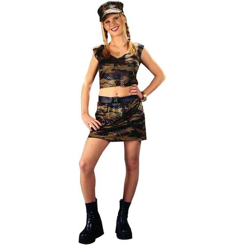 Cute Soldier Teen Costume