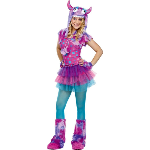 Dot Monster Teen Costume