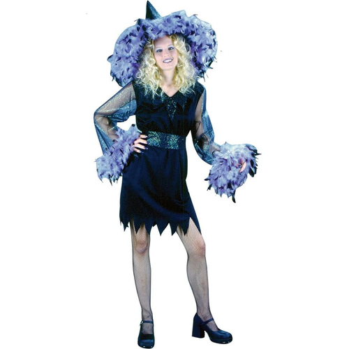 Feather Witch Teen Costume
