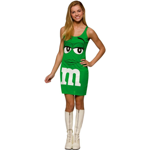 Green Dress M&M'S Teen Costume