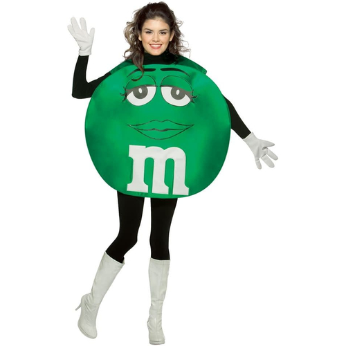 Green M&M'S Teen Poncho