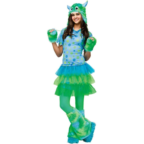 Green Monster Teen Costume