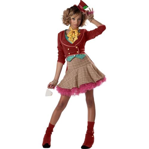 Mad Hatter Girl Teen Costume