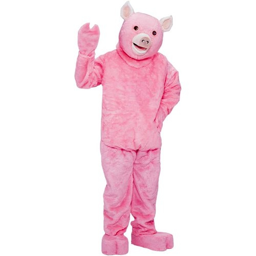 Pink Pig Adult Costume