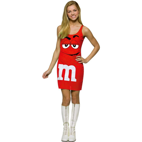 Red M&M'S Teen Costume