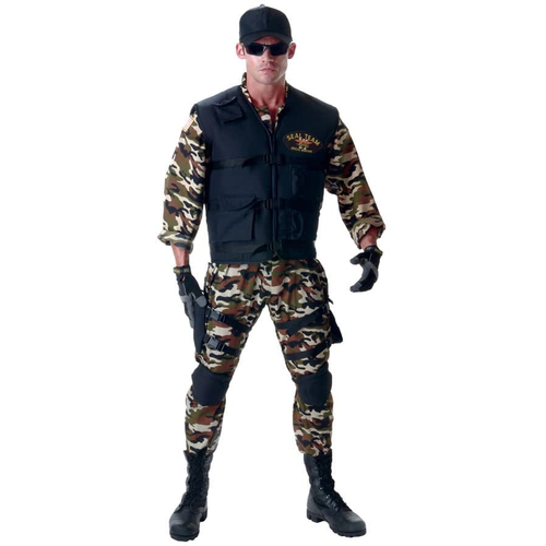 Seal Soldier Teen Costume