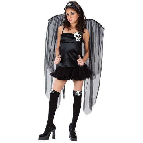 Skull Fairy Teen Costume